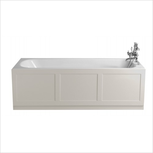 Heritage Bathtubs - Sutherland 1700x750 Cast Iron Fitted Bath 2TH