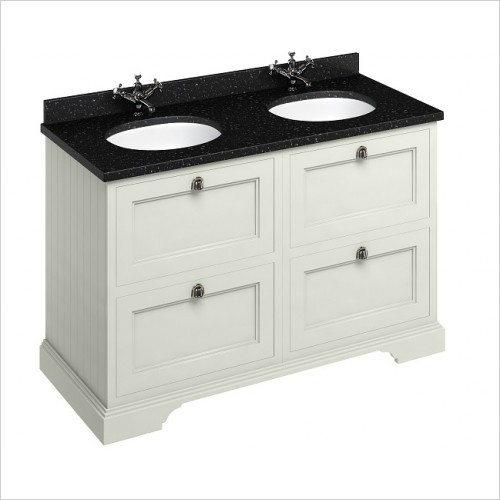 Burlington Furniture - 1300 Freestanding Vanity Unit With Drawers