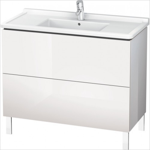 Duravit Furniture - L Cube Vanity Unit Freestanding 1020, F 030410, 2 Drawer