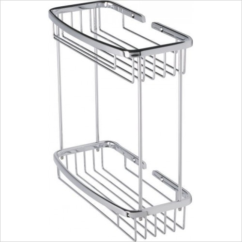 Roper Rhodes Accessories - Madison Double Bottle Basket