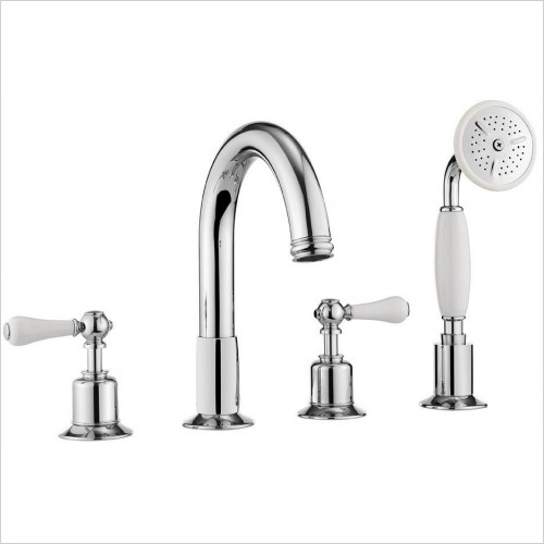 Crosswater Showers - Belgravia Lever Bath 4 Hole Set
