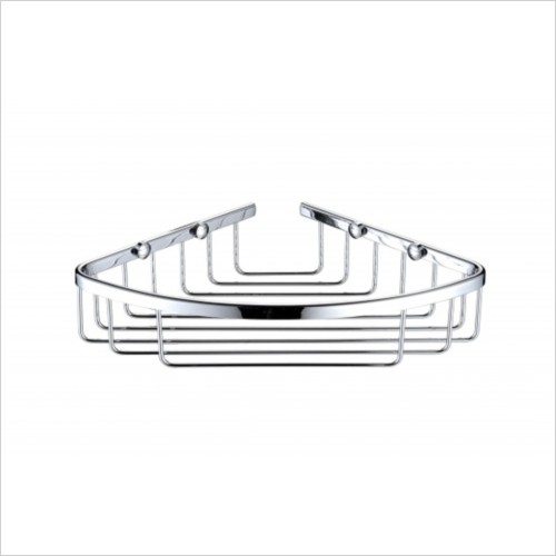 Heritage Accessories - Corner Wire Basket 50x290x160mm