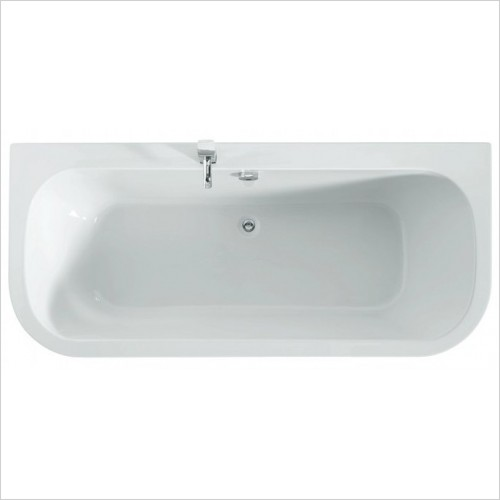 Adamsez Baths - Initial D Double Ended Bath 1800x800mm Including Panel