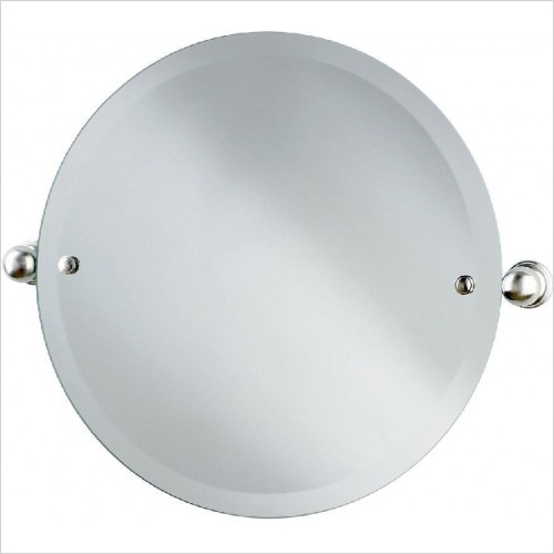 Perrin and Rowe Accessories - Traditional Circular Mirror 500mm