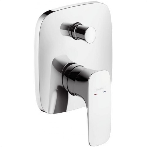 Hansgrohe Showers - Puravida Concealed Bath Mixer Plate -  2 Outlets