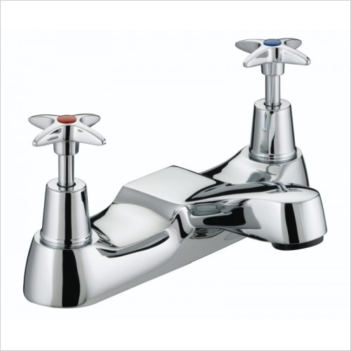 Bristan Taps - 5412 Cross Top Bath Filler