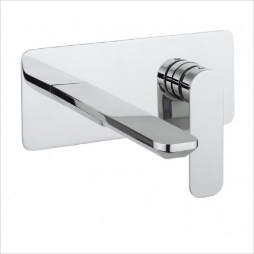 Crosswater Taps - Pier Wall Mounted Basin Two Hole Set