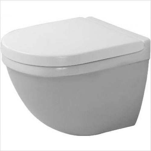 Duravit - Toilets - Starck 3 DuraFix Toilet Wall-Mounted Comp Washdown