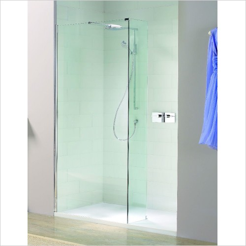 Matki Shower Enclosures - Boutique Recess & Raised Tray 1200 x 900mm RH