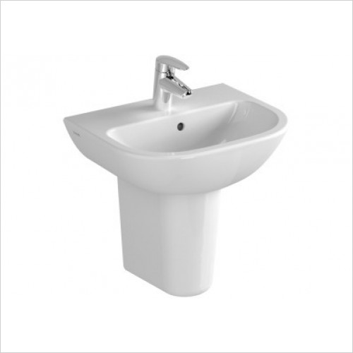 Vitra Basins - S20 Cloakroom Washbasin 45cm 2TH