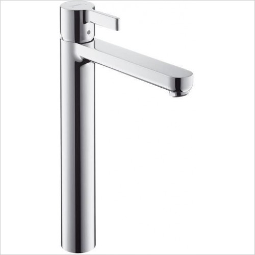 Hansgrohe Taps - Metris S Single Lever Highriser Basin Mixer With Waste Set