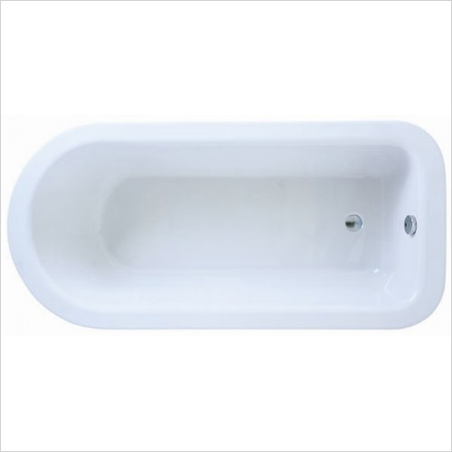 Adamsez Baths - Hampton Freestanding Bath 1680x800mm - aluminium feet