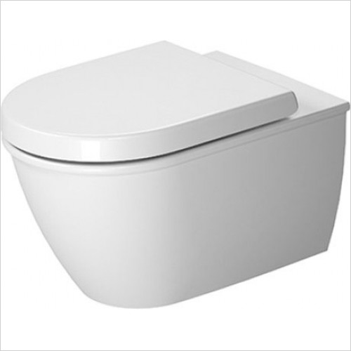 Duravit - Toilets - Darling New Toilet Wall Mounted 570mm, Washdown, Rimless