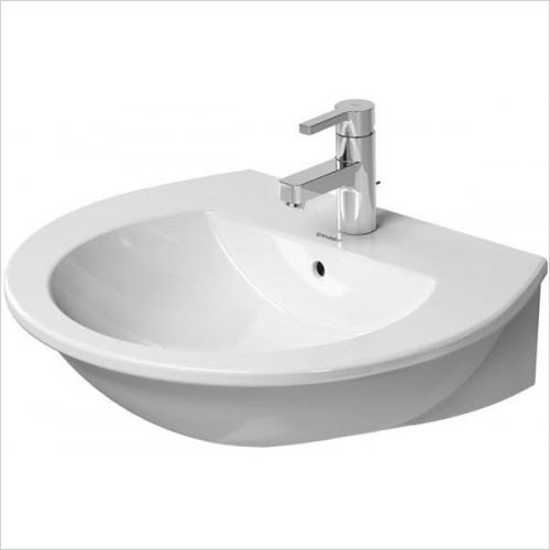 Duravit - Basins - Darling New Washbasin, 600 x 520mm - 1 Tap Hole