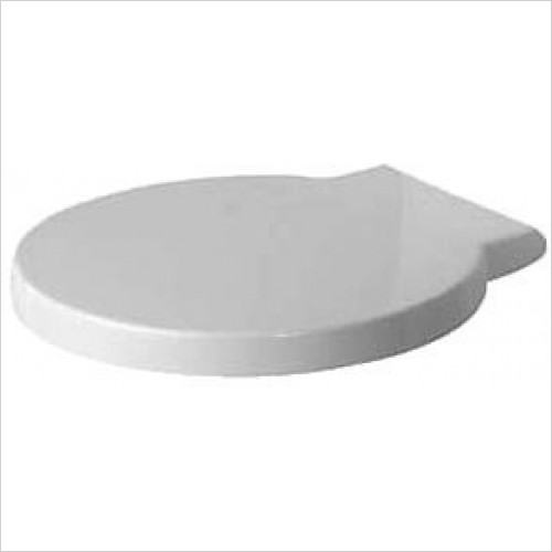 Duravit Toilet Seats - Starck 1 Seat & Cover With Softclose