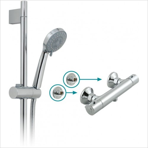 VADO Showers - Prima Showering Package
