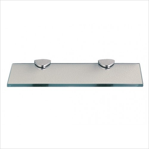 Miller Accessories - Classic Shelf 300mm With Chrome Brackets