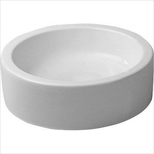Duravit - Basins - Starck 1 Wash Bowl 460mm Cylindric