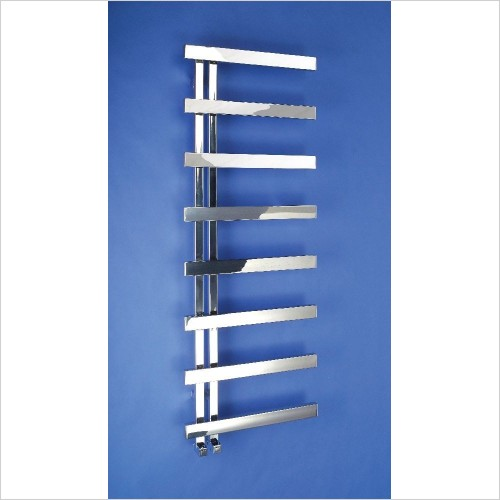 Bisque Radiators - Alban Towel Radiator 1000 x 500mm - SS Mirror