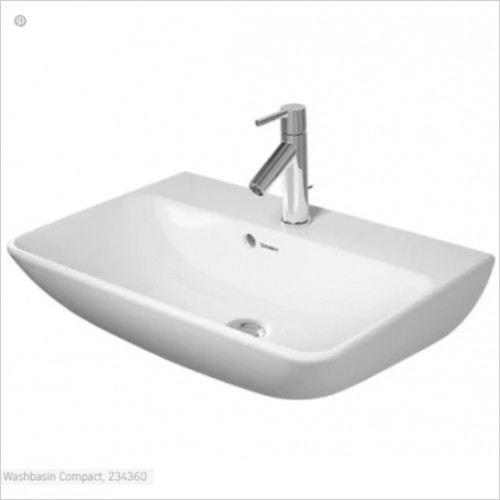 Duravit - Basins - Wash Basin 600mm Me By Starck Compact