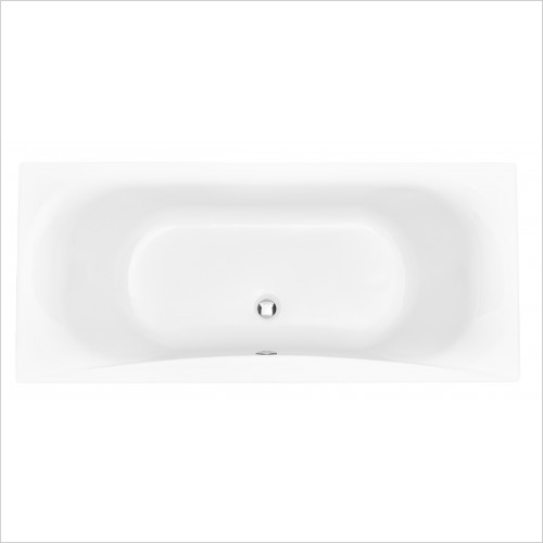 Heritage Bathtubs - Claverton Double Ended 1700 x 750 Acrylic Fitted Bath