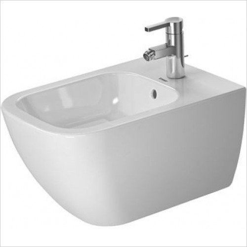 Duravit Bidets - Happy D.2 Bidet Wall Mounted 540mm1TH