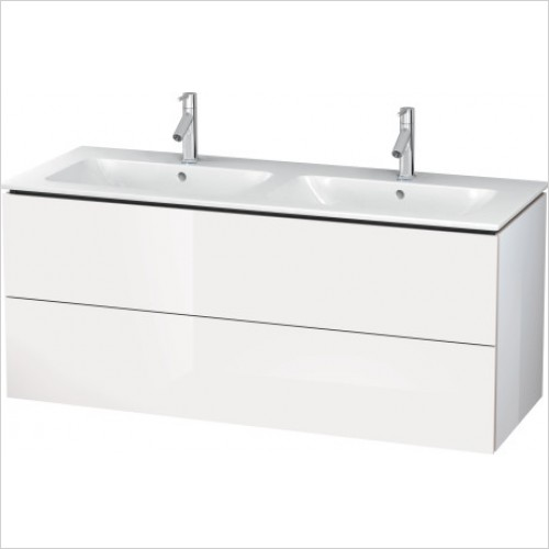 Duravit Furniture - L Cube Vanity Unit 1290 F 233613, 2 Drawer
