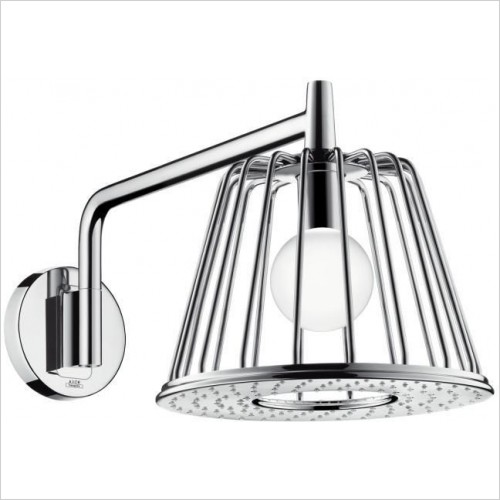 Axor Showers - Lamp Shower 1 Jet Overhead Shower 275mm with Arm