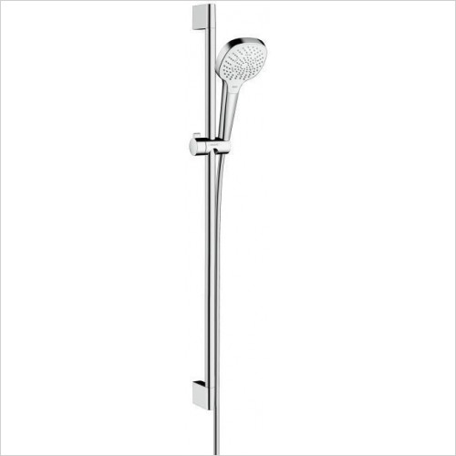 Hansgrohe Showers - Croma Select E Multi 9l Unica Shower Set with Rail 90cm