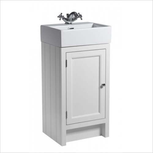 Roper Rhodes Furniture - Hampton 450mm Small Cloakroom Bathroom Unit in White