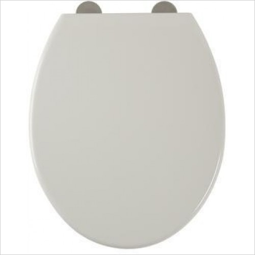 Roper Rhodes Toilets - Mercury Soft-Closing Toilet Seat