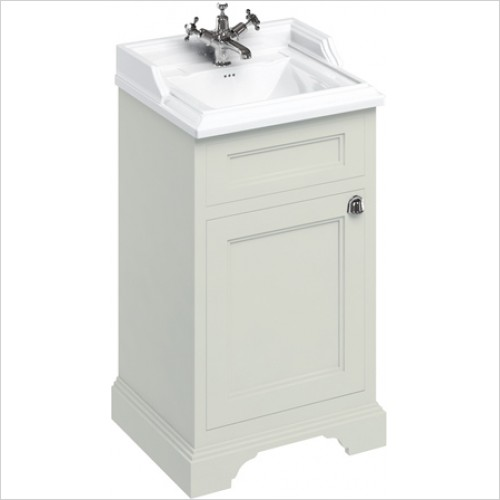 Burlington Furniture - 50cm Vanity Unit With Two Doors