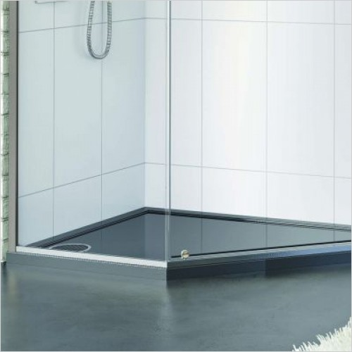 Matki Shower Enclosures - Universal 40 Pentagon Shower Tray 900 x 900mm