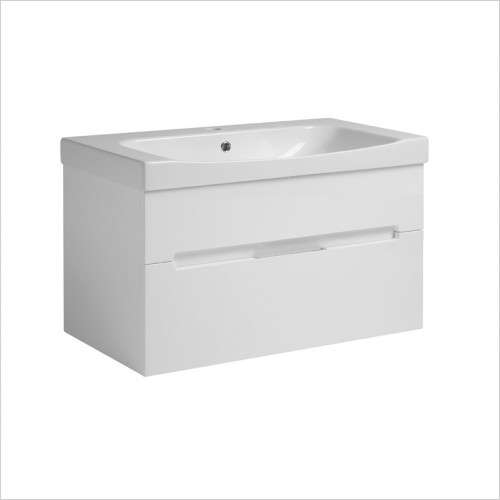 Roper Rhodes Furniture - Diverge 800mm Floor Mounted Bathroom Vanity Unit