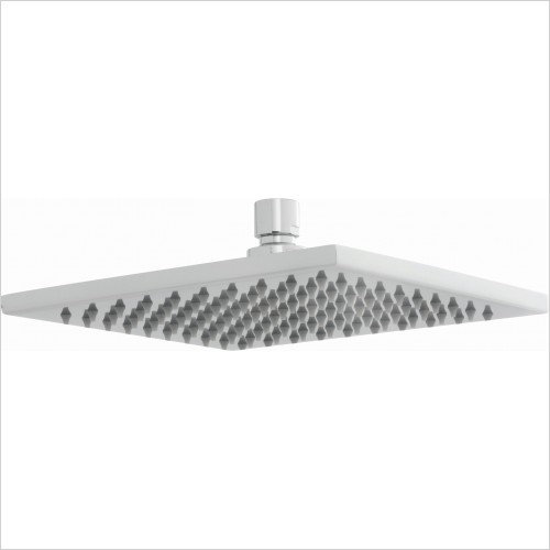 VADO Showers - Atmosphere Air-Injected Square 200mm (8'') Shower Head