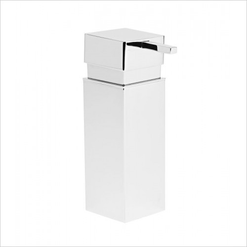 Roper Rhodes Accessories - Media Square Wall Mounted Soap Dispenser