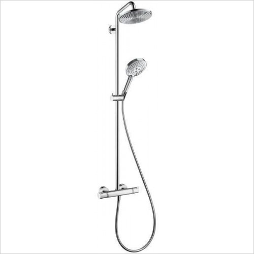 Hansgrohe Showers - Raindance Select 240 Showerpipe EcoSmart With Swivel Arm