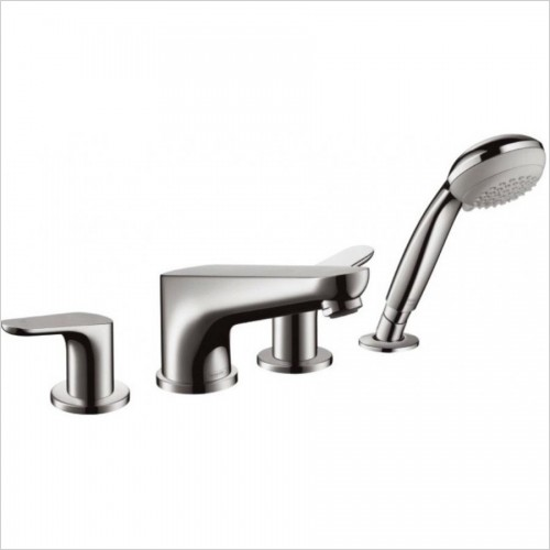 Hansgrohe Taps - Focus 4 Hole Bath Mixer FS Exposed
