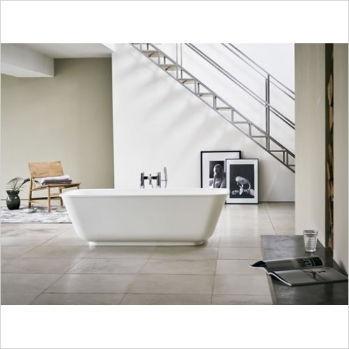 Clearwater Baths - Nuvola ClearStone 1700 x 750mm Bath, No Overflow