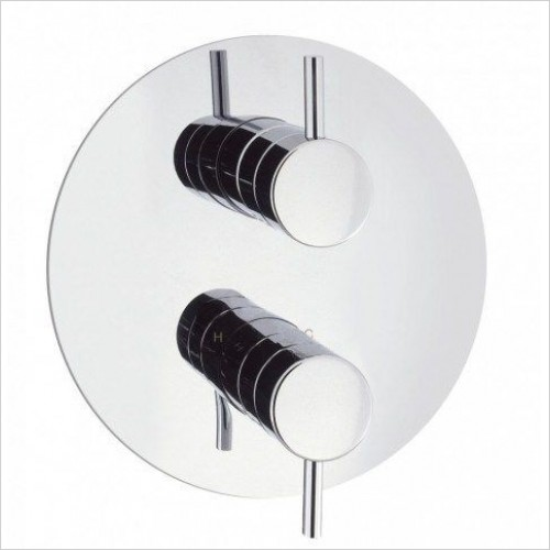 Crosswater Showers - Kai Lever 1000 Thermostatic Shower Valve Round