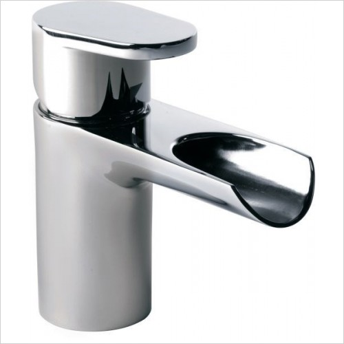Roper Rhodes Taps - Stream Open Spout Basin Mixer With Click Waste