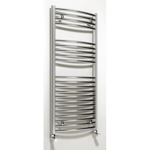 Diva Curved Towel Rail 1000 x 500mm - Electric