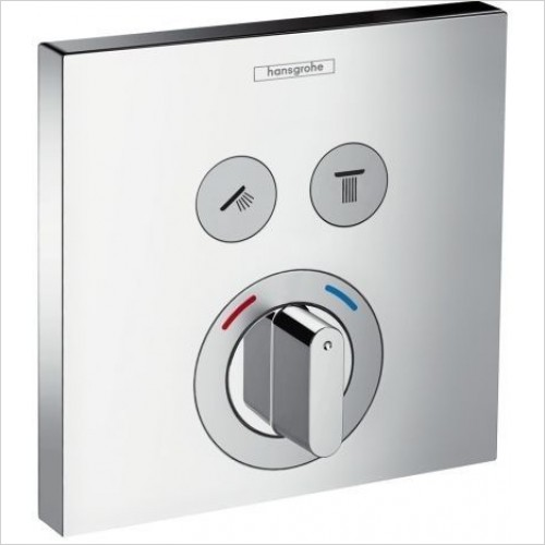 Hansgrohe Showers - ShowerSelect Mixer 2 Outlets