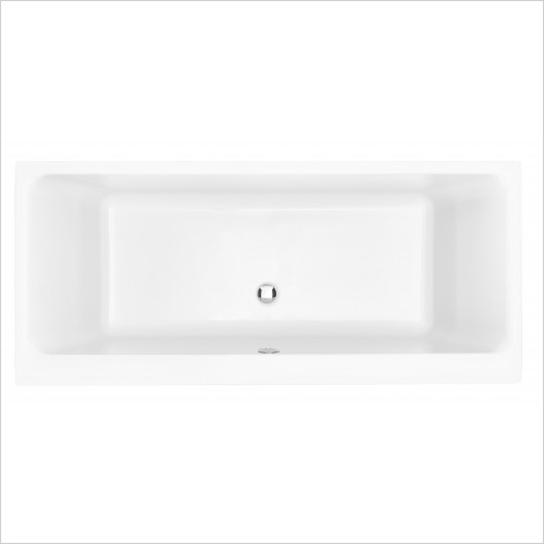 Heritage Bathtubs - Blenheim Doubled Ended 1700 x 750 Acrylic Fitted Bath