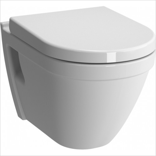 Vitra Toilets - S50 Rimless Wall-Hung WC Pan