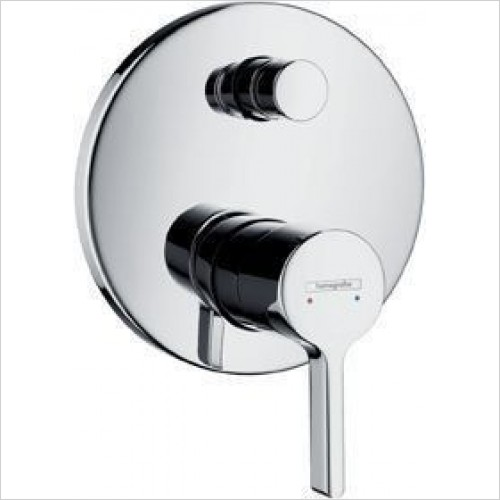 Hansgrohe Taps - Metris S Bath Mixer Concealed Finish Set