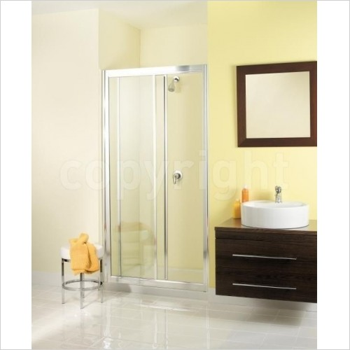 Simpsons Shower Enclosures - Supreme Single Slider 1000mm