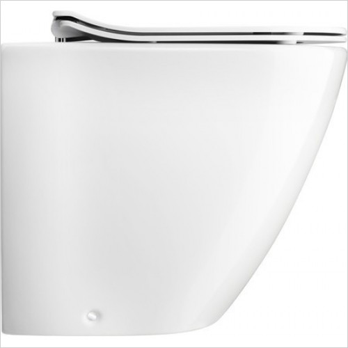 Bauhaus Toilets - Svelte C Back to Wall WC Pan