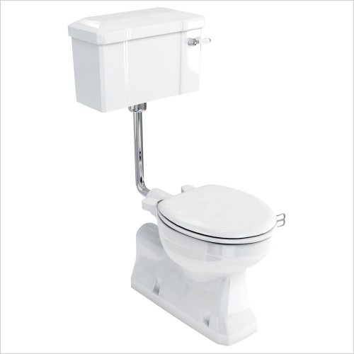Burlington Toilets - Low Level S Trap Pan