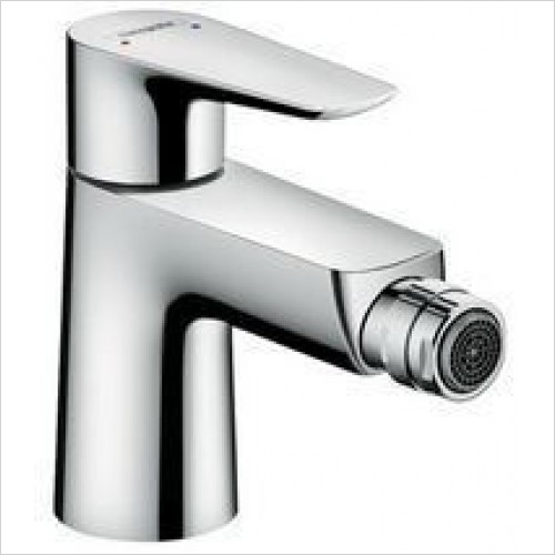 Hansgrohe Taps - Talis E Single Lever Bidet Mixer With Push-Open Waste